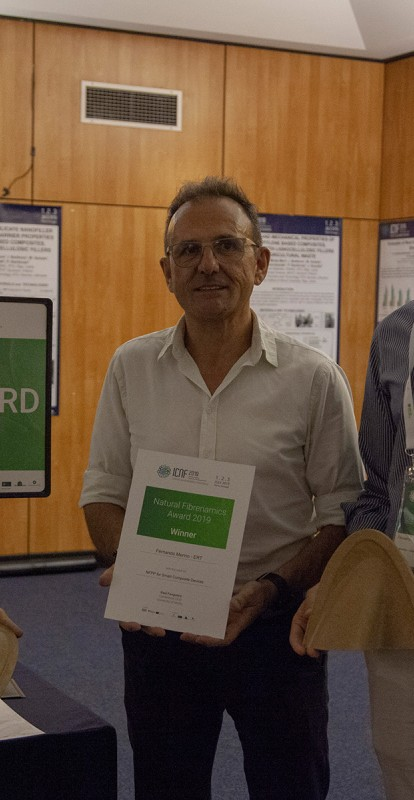 ERT vence Natural Fibrenamics Award 2019